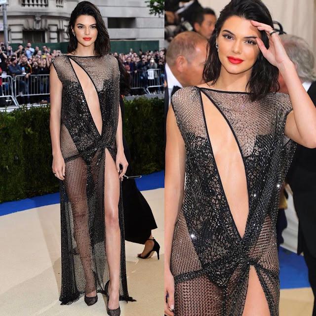 Kendall Jenner at Met Gala 2017