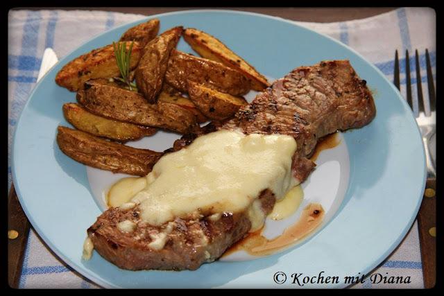 Rindfleisch mit Briesoße