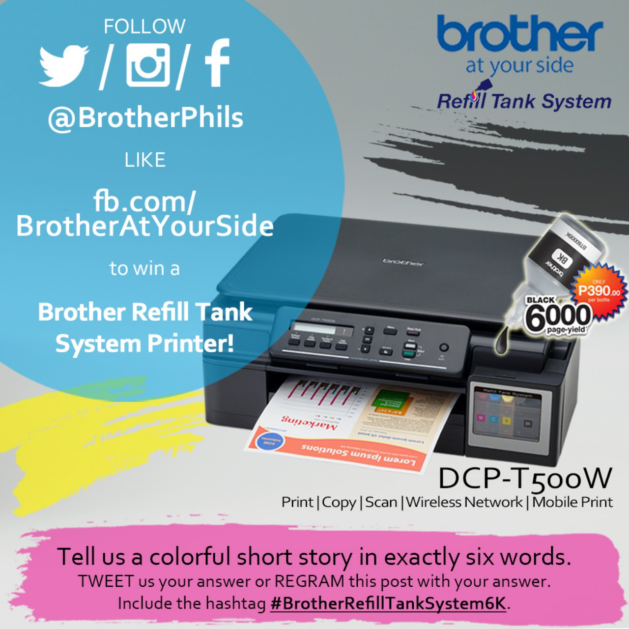 Brother 6K 6Word Online Promo