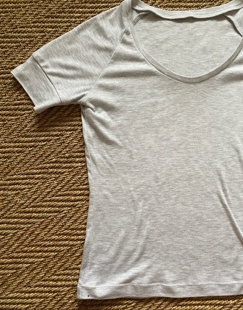 Diary of a Chain Stitcher: Papercut SJ Tee in Jersey Knit from The Fabric Store