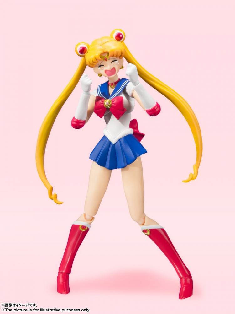 S.H.Figuarts Sailor Moon -Animation Color Edition- de Sailor Moon - Tamashii Nations