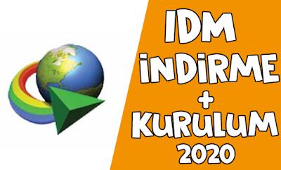 IDM Nasıl İndilirlir + Kurulum - Program