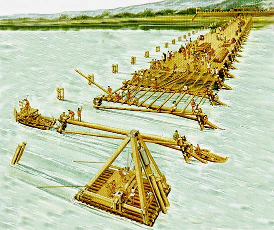 Il ponte di cesare for Piani di ponte ottagonale