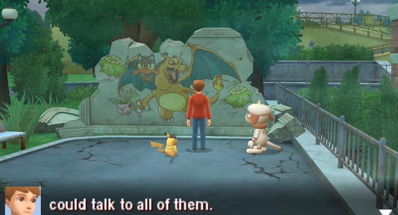 Cena Detective Pikachu 3DS