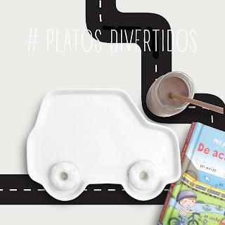 platos infantiles para ninios para hacer de la comida con los chicos un momento divertido