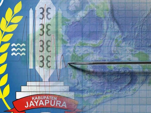 Gempa 4,1 SR Guncang Jayapura Raya