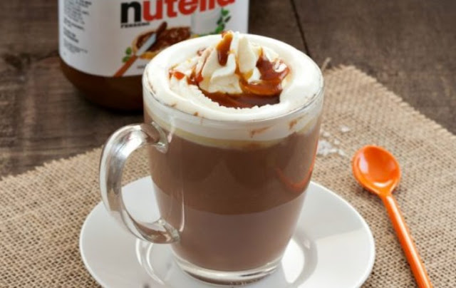 Nutella Hot Coffee #drinks #coffee