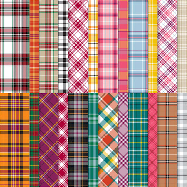 Plaid Tidings Designer Series Paper