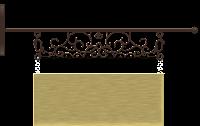 Plaquinha cute madeira - Criação Blog PNG-Free