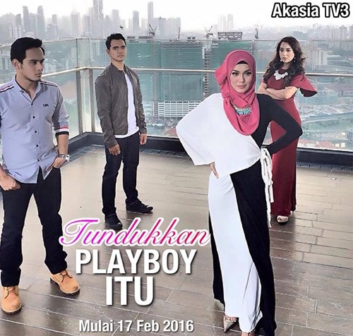 Sinopsis drama Tundukkan Playboy Itu TV3, pelakon dan gambar drama Tundukkan Playboy Itu TV3, Tundukkan Playboy Itu episod akhir – episod 30