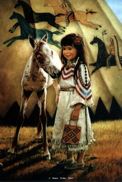 White Wolf : Karen Noles - well loved artist of Native ...
