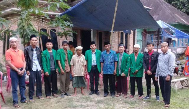 Ansor Padang Pariaman Datangi Korban Gempa
