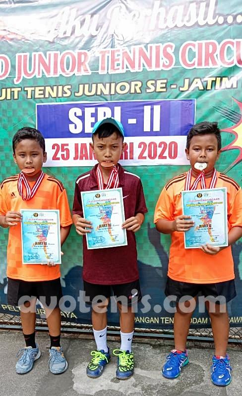 Weekend Junior Tennis Circuit 2020 (Putaran III): Inilah Juaranya