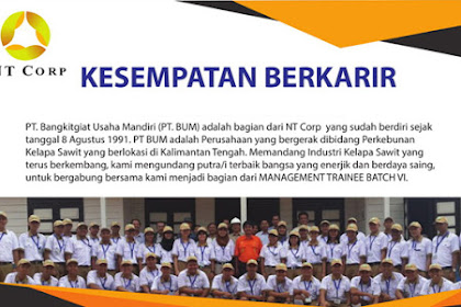 Lowongan Kerja PT Bangkitgiat Usaha Mandiri (PT BUM)
