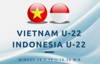 Jadwal Vietnam vs Indonesia Semifinal Piala AFF U-22 Siaran Langsung  RCTI