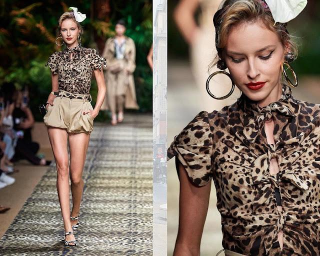 Dolce & Gabbana весна-лето 2020 Показ моды 2