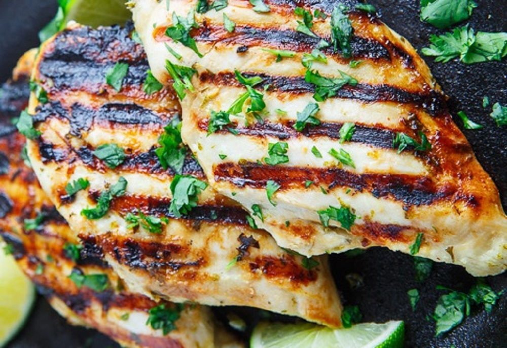 New age soul food sunday dinner april 22 2018 cilantro lime grilled chicken breast forumfinder Images