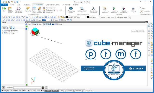 Stonex Cube Manager v4.2