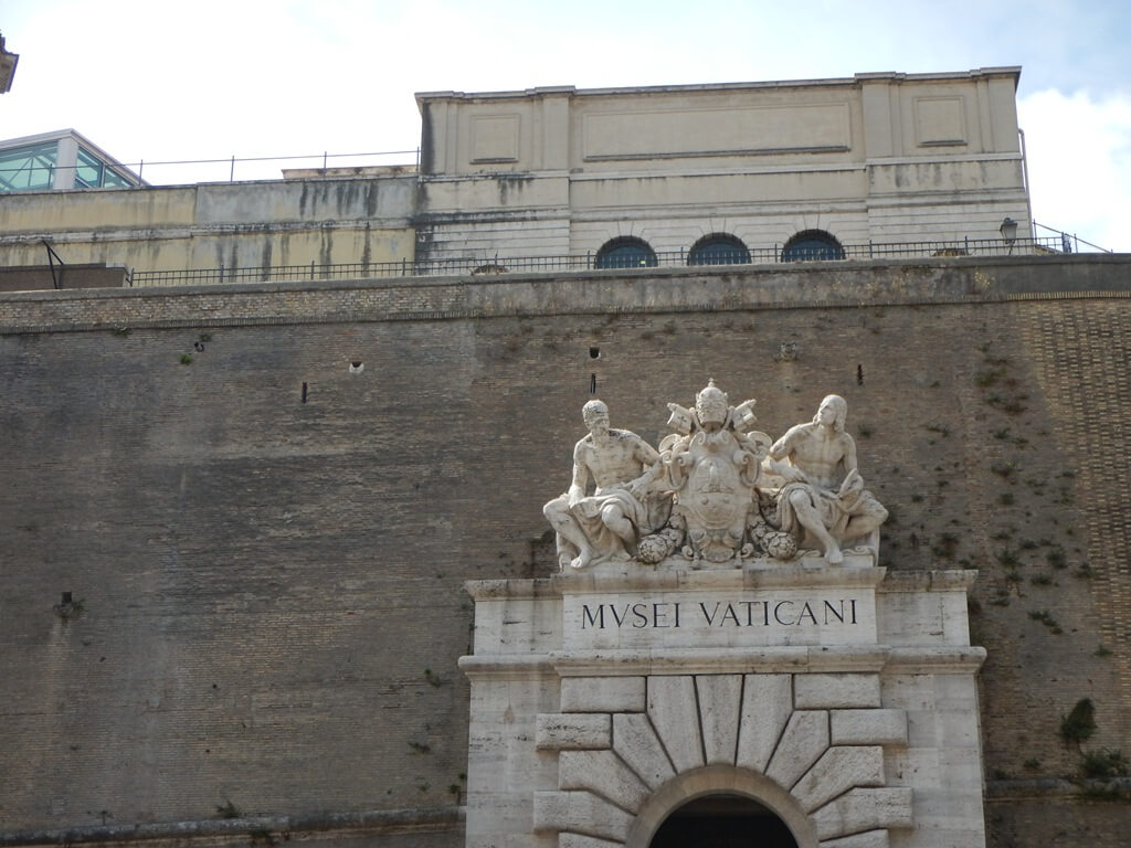 Entrada dos Museus do Vaticano