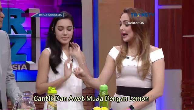 tetap awet Muda dengan lemon