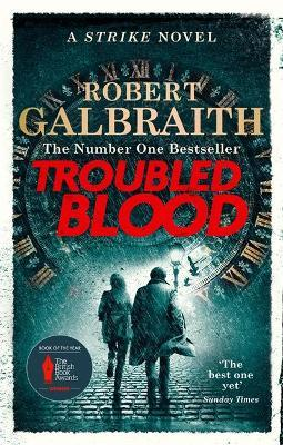 Troubled Blood : Winner of the Crime and Thriller British Book of the Year Award 2021