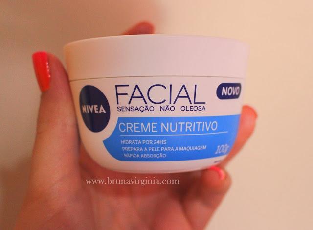 Resenha Creme Facial Nutritivo Nivea- Novo