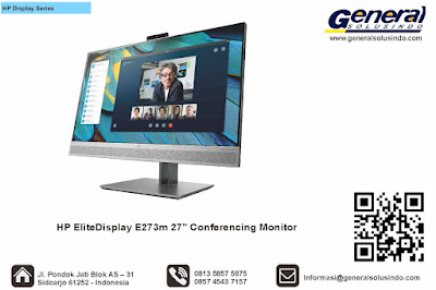 "HP EliteDisplay E273m 27"" Conferencing Monitor"