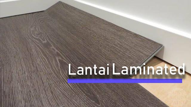 Lantai kayu sintetis Tipe 1 Laminated Flooring