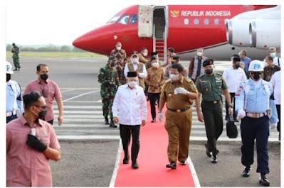 Gubernur Arinal Sambut Kedatangan Wapres Ma'ruf Amin