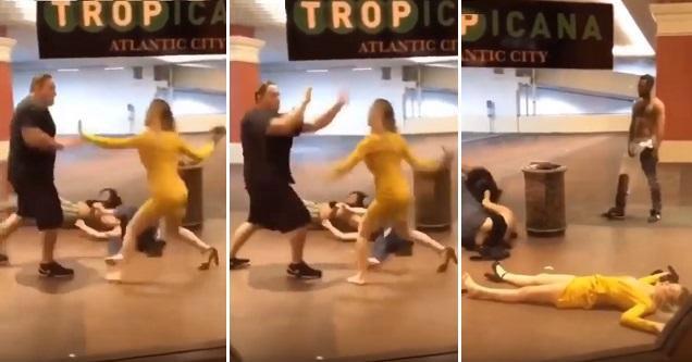 Woman Gets Slapped