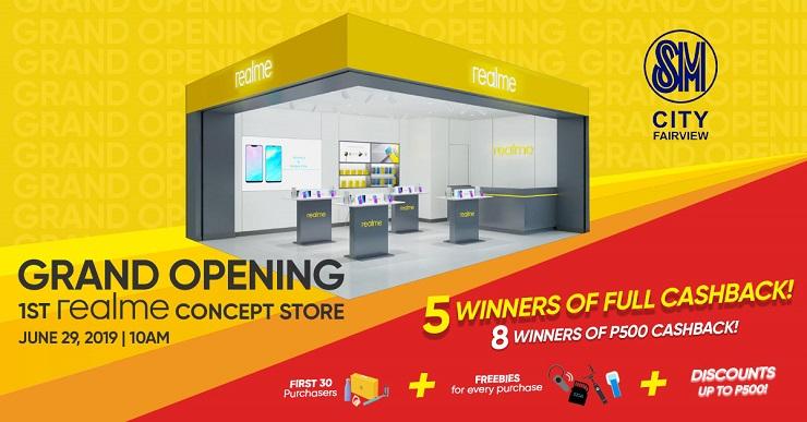 Realme Concept Store SM Fairview