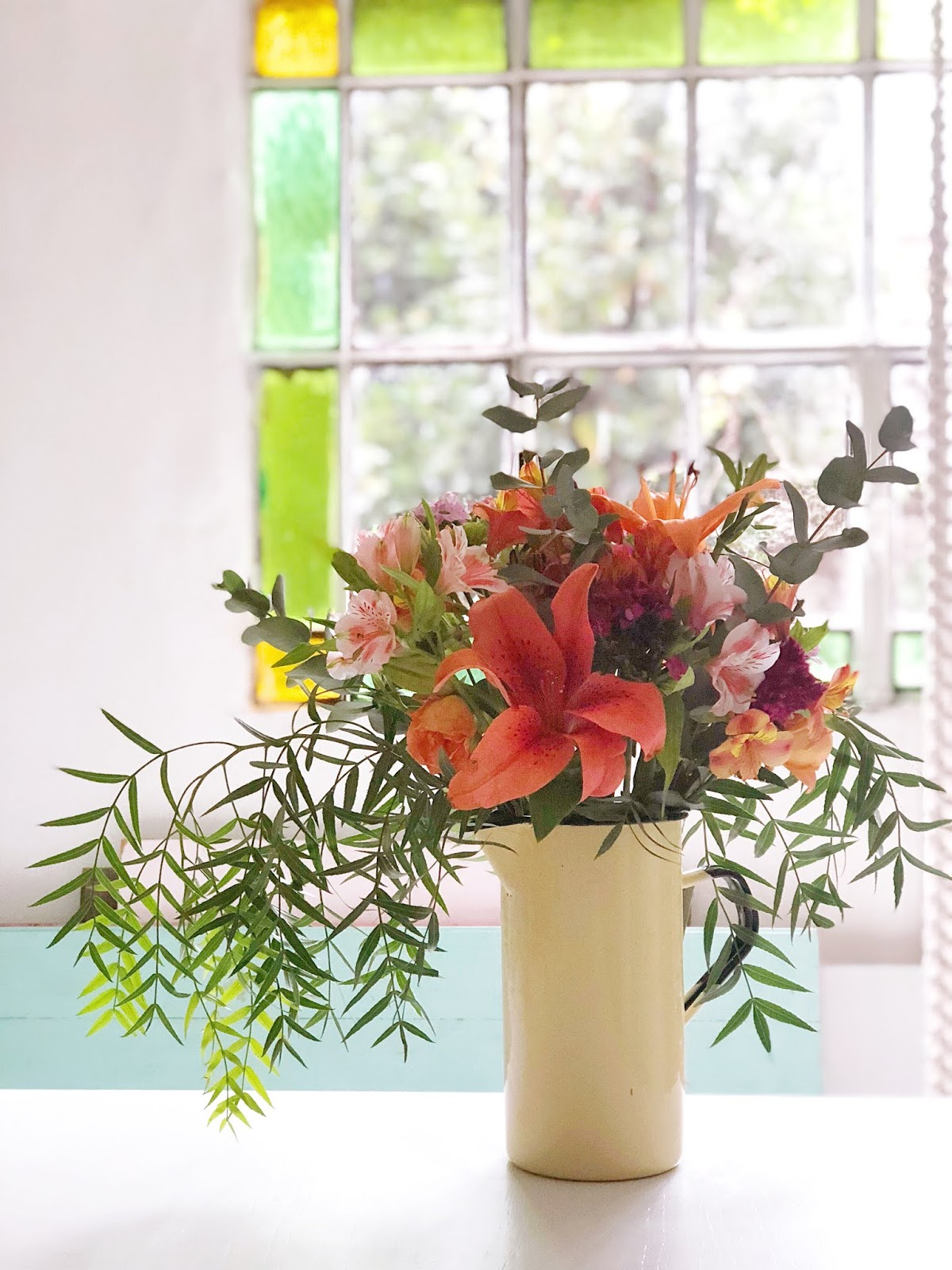 El jardín naranja para #colorsoloparami