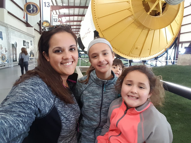 Me & My Girls - Space Center Houston