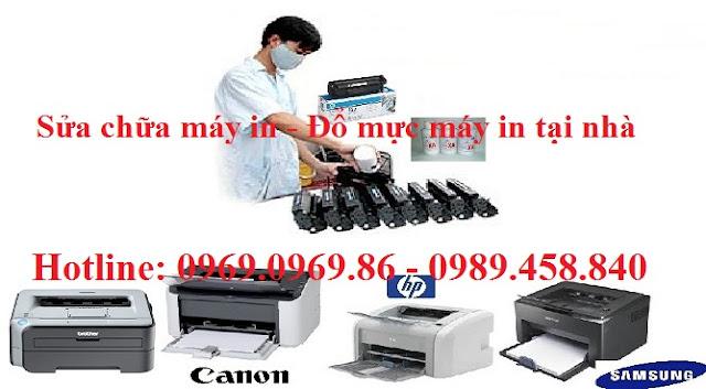 sửa chữa máy in, đổ mực máy in tại nhà LH 0969.0969.86