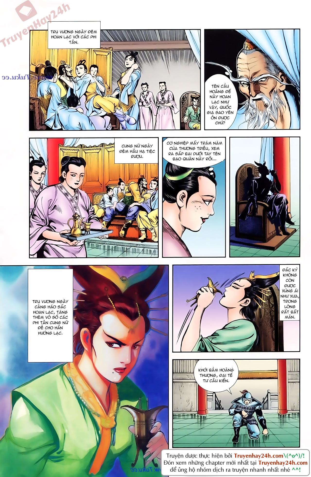 Cơ Phát Khai Chu Bản chapter 78 trang 23