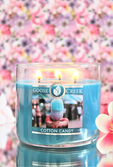 Bougie Parfumée Cotton Candy avis, cotton candy goose creek, goose creek cotton candy, bougie parfumée gourmande, bougie parfumée, bougie parfumée 3 mèches, cotton candy candle, bougie cotton candy goose creek