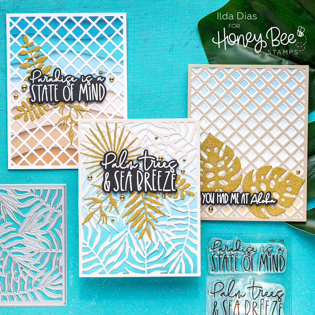 Easy, Beach, Friendship Card, Honey Bee Stamps, Diecutting, Card Making, Stamping, Die Cutting, handmade card, ilovedoingallthingscrafty, Stamps, how to, Hello Summer,