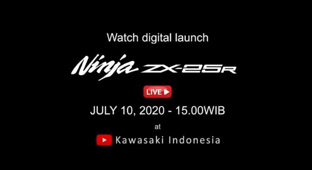 Launching Kawasaki ZX25R Indonesia 2020