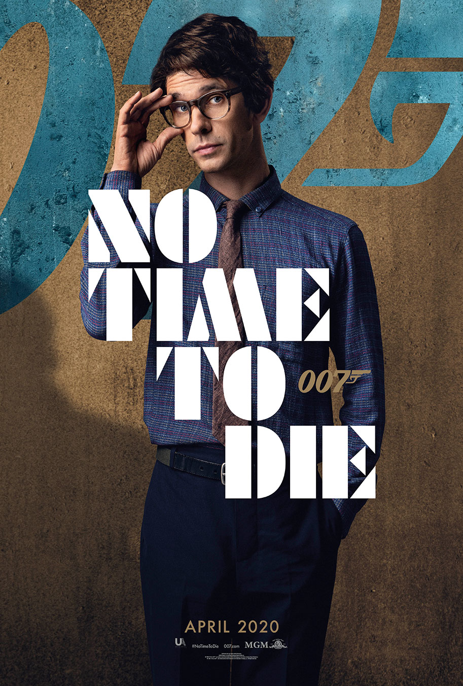 NO TIME TO DIE POSTER (#9 OF 12) - OKAY BHARGAV