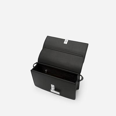 Túi Đeo Chéo Phối Màu - SHO 0137 - Màu Đen