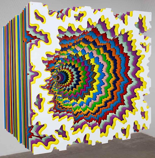 Jen Stark paper art