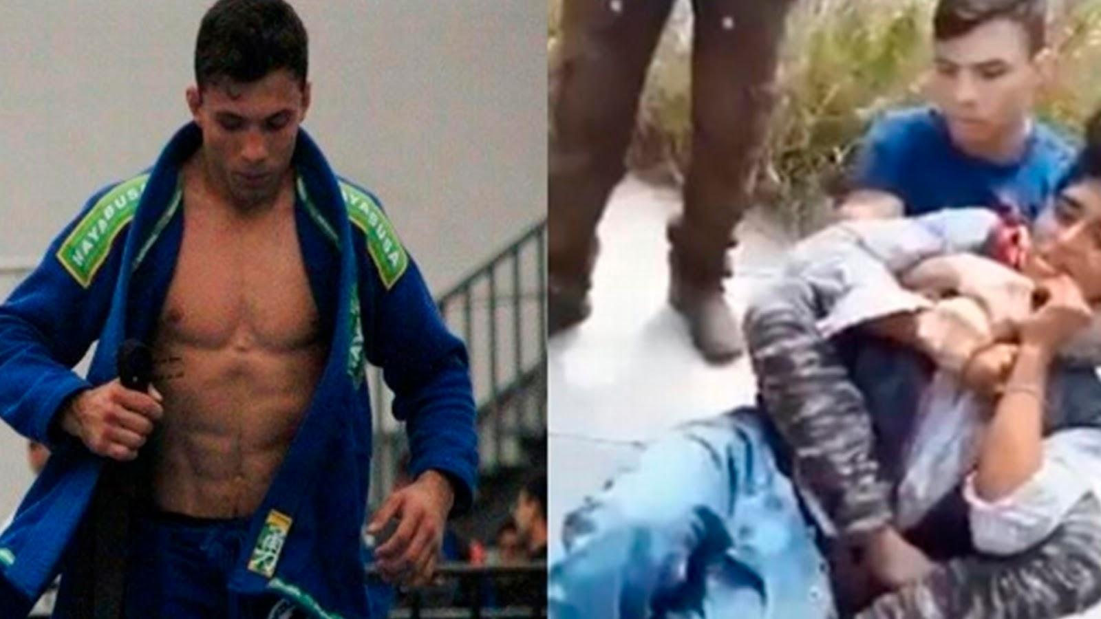 Campeón de artes marciales frustra asalto en Puebla y somete al ladrón (VÍDEO)