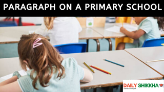 paragraph on A Primary School