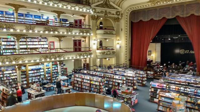 Librería Ateneo Grand Splendid, Buenos Aires