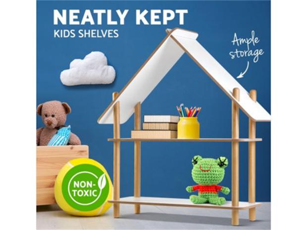 Neatly-Kept-Kids-Shelves