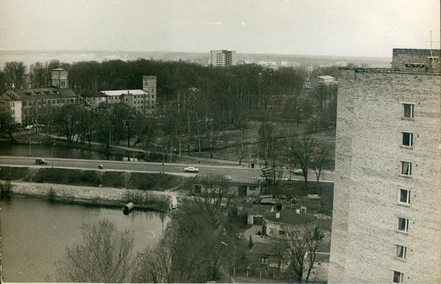 1981 год. Рига. Югла. Улица Ленина