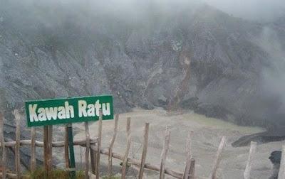 Kawah Ratu Sukabumi Jawa Barat