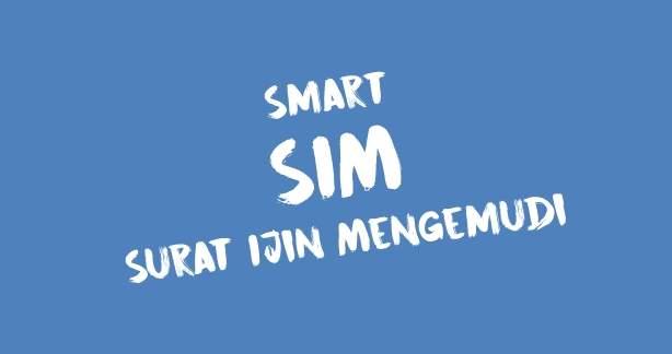 Smart SIM Surat ijin mengemudi