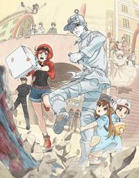 جميع حلقات الأنمي Hataraku Saibou مترجم