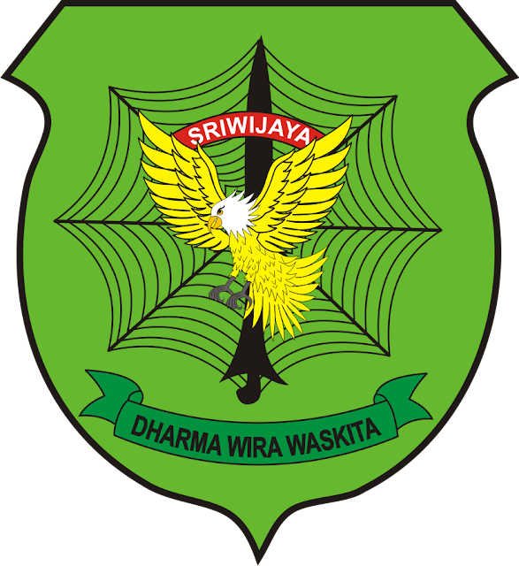 Logo RESIMEN INDUK KOMANDO DAERAH MILITER ( RINDAM ) 2 SRIWIJAYA PNG